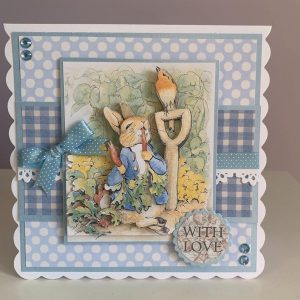 Peter Rabbit With Love card