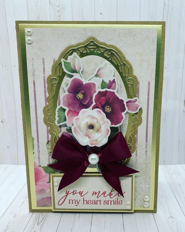 Floral Roses Mother's Day Card